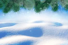 New sweet frozen background Stock Illustration