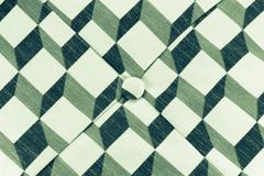 texture of cyan fabric - stock photo