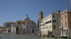 Chiesa di San Geremia and Palazzo Labia in Venice Stock Footage