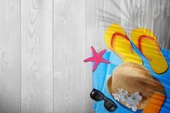 New summer time background Stock Illustration