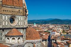 Cathedral Santa Maria del Fiore - Florence - Italy Stock Photos