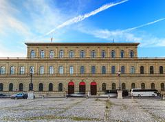 Bavarian Academy of Fine Arts - Munich -Germany Stock Photos