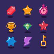 Game resources icons Piirros