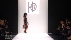 Art Hearts Fashion HBO Fashion Show Fall 2015 Collection NYFW 04 Stock Footage