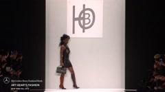 Art Hearts Fashion HBO Fashion Show Fall 2015  NYFW - Full Length Stock Footage