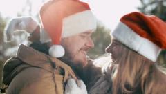 Christmas Is the Spirit of Love Stock Footage