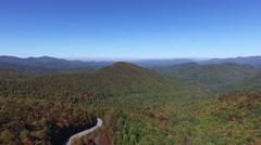 Blue Ridge in its beauty Stock Footage
