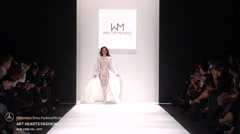 Art hearts Fashion Walter Mendez Fashion Show Fall 2015 Stock Footage