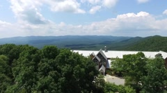 Amicalola Falls State Park Lodge Stock Footage