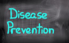 Disease Prevention Concept - stock illustration