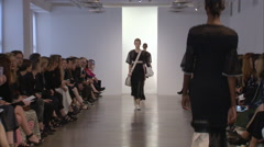 Calvin Klein resort 2016 Fashion Show Fall 2015 Collection NYFW Stock Footage