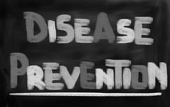 Disease Prevention Concept - stock illustration