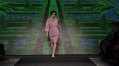 Chiara Boni La Petite Robe Fashion Show Fall 2015 Collection - stock footage