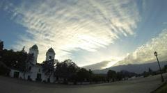 Time Lapse Iglesia Stock Footage