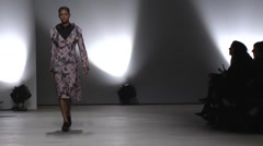 Creatures of the Wind Fashion Show Fall 2015 Collection NYFW 02 Stock Footage