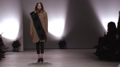 Creatures of the Wind Fashion Show Fall 2015 Collection NYFW 03 - stock footage