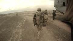 Marines In Action Stock Footage
