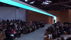 Derek Lam Fashion Show Fall 2015 Collection NYFW - Full Length Stock Footage