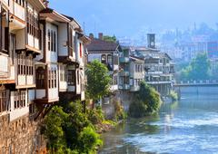 Stock Photo of Traditional ottoman houses in Amasya, Turkey