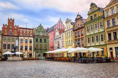 Stary Rynek, Old Marketplace Square in Poznan, Poland - stock photo