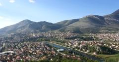 Trebinje city. Bosnia and Herzegovina Stock Footage