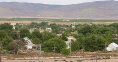 Green River Utah zoom out Stock Footage