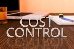 Cost Control - stock illustration