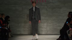 iiJin Fashion Show Fall 2015 Collection NYFW 02 - stock footage