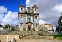 Saint Ildefonso church, Porto, Portugal Stock Photos