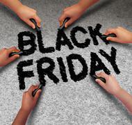 Black Friday Promotion Stock Illustration