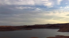 Lake Powell Sunset Time-lapse Stock Footage