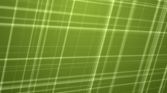 Intersecting Colored Fractal Lines Background - Green - stock footage