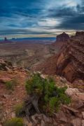 View from the False Kiva Trail - stock photo