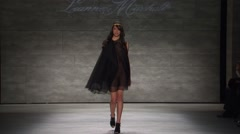 Leanne Marshall Fashion Show Fall 2015 Collection NYFW 01 Stock Footage