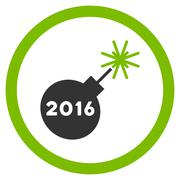2016 Petard Icon - stock illustration