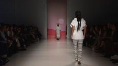 Mara Hoffman Fashion Show Fall 2015 Collection NYFW 02 Stock Footage