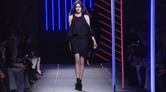 Milly Fashion Show Fall 2015 Collection NYFW 04 Stock Footage