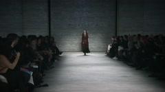 Nicholas K Fashion Show Fall 2015 Collection NYFW 02 Stock Footage