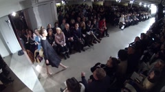 Oscar de la Renta Fashion Show Fall 2015 Collection NYFW full Stock Footage