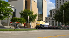Courthouse Downtown Miami 2 Stock Footage