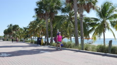 Key Biscayne Miami FL - stock footage