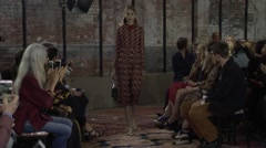 Project Gucci Cruise Fashion Show 2016 Collection NYFW 01 Stock Footage