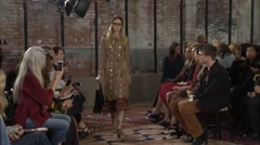 Project Gucci Cruise Fashion Show 2016 Collection NYFW 05 Stock Footage