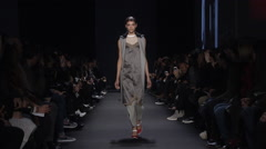 Rag and Bone Fashion Show Fall 2015 Collection NYFW 03 Stock Footage