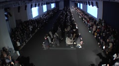 Rag and Bone Fashion Show Fall 2015 Collection NYFW - Full Length Stock Footage