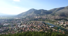 Trebinje city. Bosnia and Herzegovina - stock footage