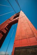 San Francisco Golden Gate Bridge - stock photo