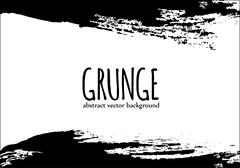 Grunge abstract banner for design background - stock illustration