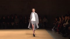 Sally LaPointe Show Fall 2015 Collection NYFW 01 Stock Footage