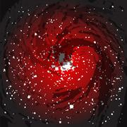 Black Hole Background - stock illustration